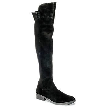 Shoes Women High boots Buffalo NUPAN Black