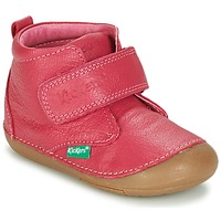 Shoes Girl Mid boots Kickers SABIO Fuschia