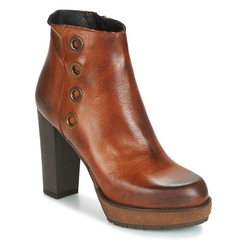 Shoes Women Ankle boots Sweet Lemon SEDRIA Brown