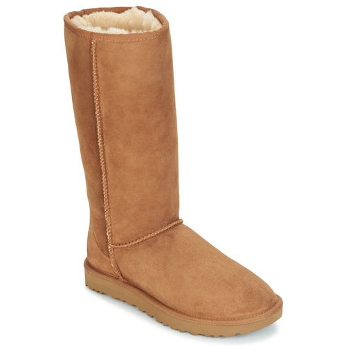 Shoes Women Boots UGG CLASSIC TALL II Brown