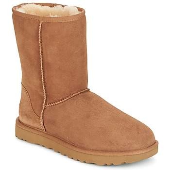 Shoes Women Mid boots UGG CLASSIC SHORT II Brown