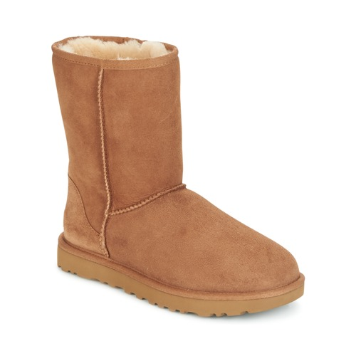 ec34edc49b UGG CLASSIC SHORT II Camel - Free delivery with Spartoo NET ...