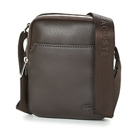 Bags Men Pouches / Clutches Lacoste GAEL Brown