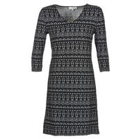 material Women Short Dresses Cream MIRA DRESS Black