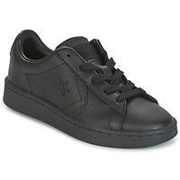 Shoes Boy Low top trainers Converse PL 76 OX YOUTH  black