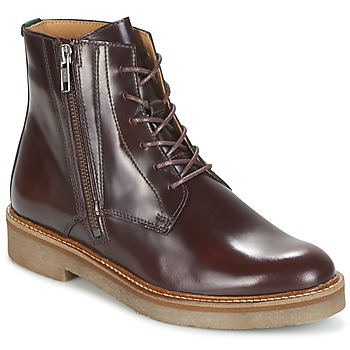 Shoes Women Mid boots Kickers OXFOTO Bordeaux