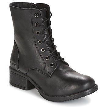 Shoes Women Mid boots Kickers REKABBY Black