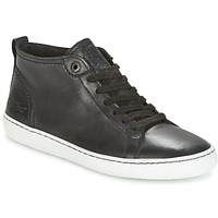 Shoes Women Low top trainers Kickers REVIEW Black
