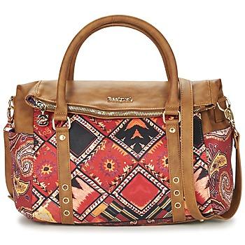 Bags Women Handbags Desigual BOLS_LOVERTY  BOHO Camel / Multicoloured