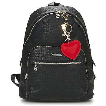 Bags Women Rucksacks Desigual BOLS_LIMA GLOSSY Black