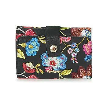Bags Women Wallets Desigual MONE_CARIBOU LENGÜETA S Black