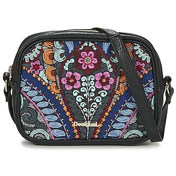 Bags Women Shoulder bags Desigual BOLS_CHARLOTTE  PIKA Black / Multicoloured
