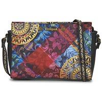 Bags Women Shoulder bags Desigual BOLS_VEGAS TRANSFLORES Black / Multicoloured