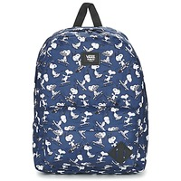 Bags Rucksacks Vans OLD SKOOL II BACKPACK Blue / White