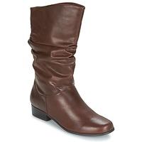 Shoes Women Boots Spot on LAVAS CAMEL