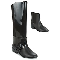 Shoes Women Boots Melissa RIDING II AD. Black