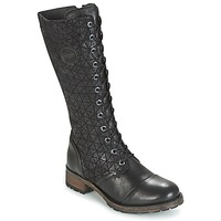 Shoes Women Boots Pataugas DOLCE Black