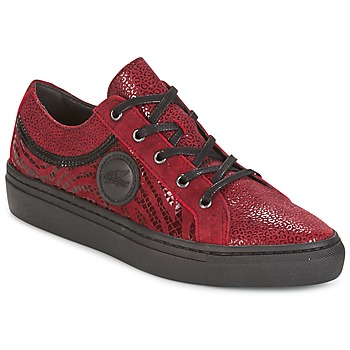 Shoes Women Low top trainers Pataugas YORK Red