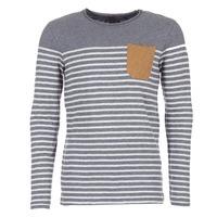 material Men Long sleeved shirts Le Temps des Cerises VINCENT Grey