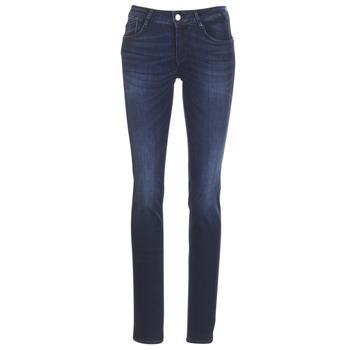 material Women straight jeans Le Temps des Cerises PULP REGULAR Blue / Dark