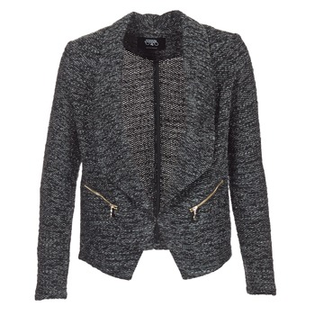 material Women Jackets / Blazers Le Temps des Cerises DARLA Grey