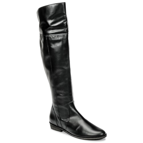 Shoes Women High boots So Size HOLA Black