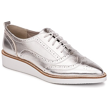 Shoes Women Brogue shoes KG by Kurt Geiger KNOXY-SILVER Silver