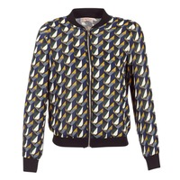 material Women Blouses Moony Mood HARIO Black / Blue / Yellow