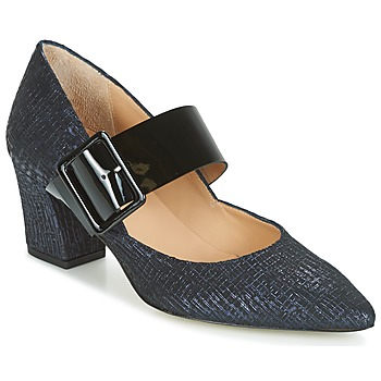 Shoes Women Court shoes Perlato JESSY Blue / Black