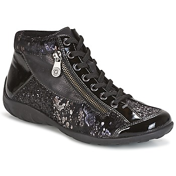 Shoes Women High top trainers Remonte Dorndorf DORA Black