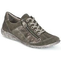Shoes Women Low top trainers Remonte Dorndorf POLINE Grey / Pearly