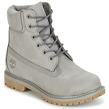 Shoes Women Mid boots Timberland 6IN PREMIUM BOOT - W Grey
