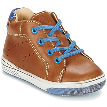 Shoes Girl High top trainers Babybotte ANKARA CAMEL