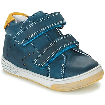 Shoes Boy High top trainers Babybotte ANTILLES Blue