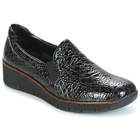 Shoes Women Slip ons Rieker LLOYD Black