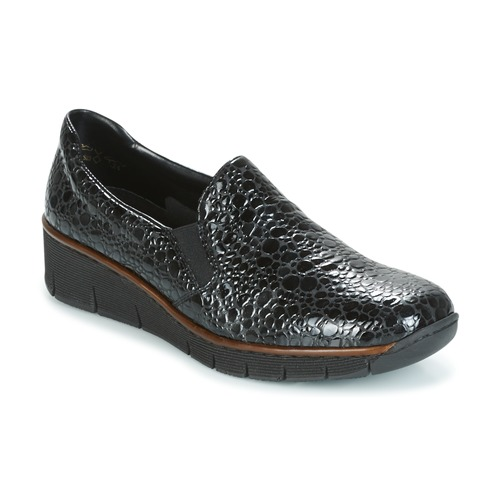 Shoes Women Loafers Rieker LLOYD Black