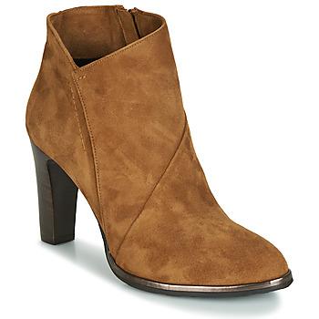 Shoes Women Ankle boots Myma PELOUR COGNAC
