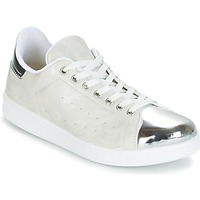 Shoes Women Low top trainers Yurban HETTANE Grey / Silver