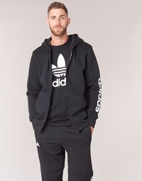 material Men sweaters adidas Performance ESS LIN FZHOODB Black