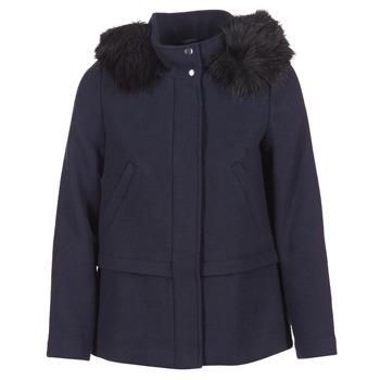 material Women coats Esprit CARDA Marine