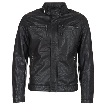 material Men Leather jackets / Imitation le Esprit VARDA Black