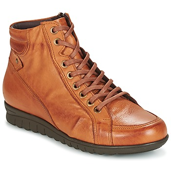 Shoes Women High top trainers Pitillos 2631 Cognac