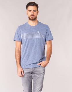 material Men short-sleeved t-shirts Diesel JOE QF Marine
