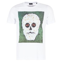 material Men short-sleeved t-shirts Diesel JOE QM White