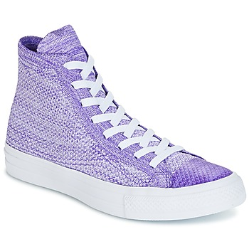 Shoes Men High top trainers Converse CHUCK TAYLOR ALL STAR NIKE FLYKNIT FLYKNIT MULTI HI FLYKNIT MULT Violet / White