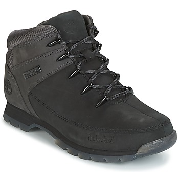 Shoes Men Mid boots Timberland EURO SPRINT HIKER Black / Grey