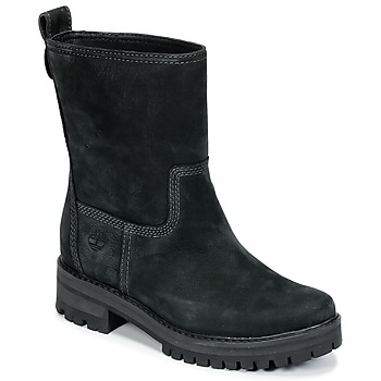 Shoes Women Boots Timberland COURMAYEUR VALLEY MID Black