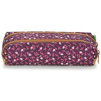 Bags Girl Pouches Tann's EXCLU CHERRY TROUSSE DOUBLE Grey / Pink