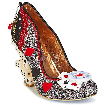 Shoes Women Court shoes Irregular Choice LAS VEGAS Silver / Black