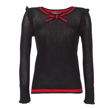 material Women jumpers Morgan MIRTI Black / Red